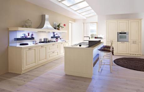 artre cucina classica bianco panna