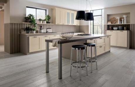 Cucina Arrex in legno dallo stile moderno