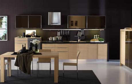 Cucina moderna modello arrex in legno