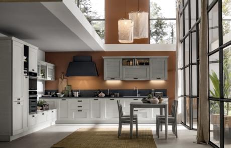 Cucina moderna arrex modello kali bianca
