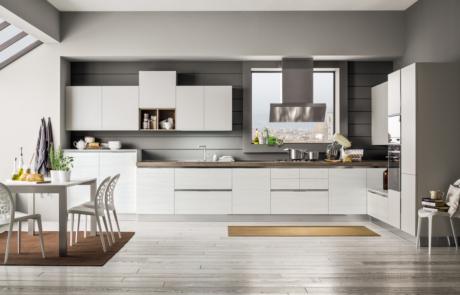arrex cucina mango moderna bianca laccato